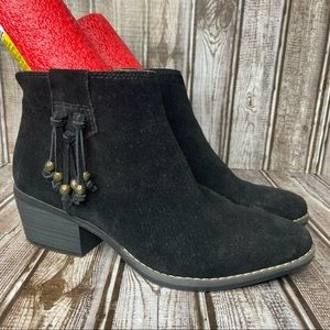 White Mountain suede ankle boots- booties Havana - size 7.5